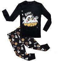 Kedofe Boy Pajamas Set Long Sleeve 100% Cotton Toddler Sleepwear Little Big Child Snug-Fit PJS