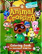 Animal Crossing New Horizons Coloring Book For Kids&Adults ACNH Fans: Incredibly Highly Detailed Pictures Of ACNH Characters | Creativity Booster & Stress