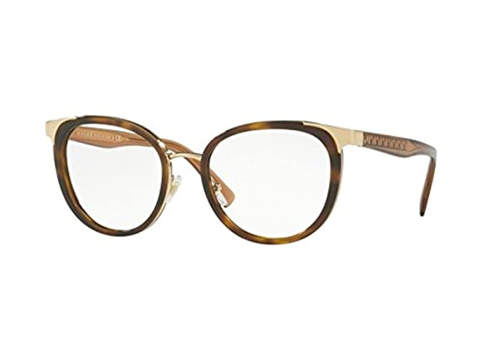 2a48bf7a86fc6 Image Unavailable. Image not available for. Colour  Versace VE1249 Tortoise  Gold Clear Lens Eyeglasses