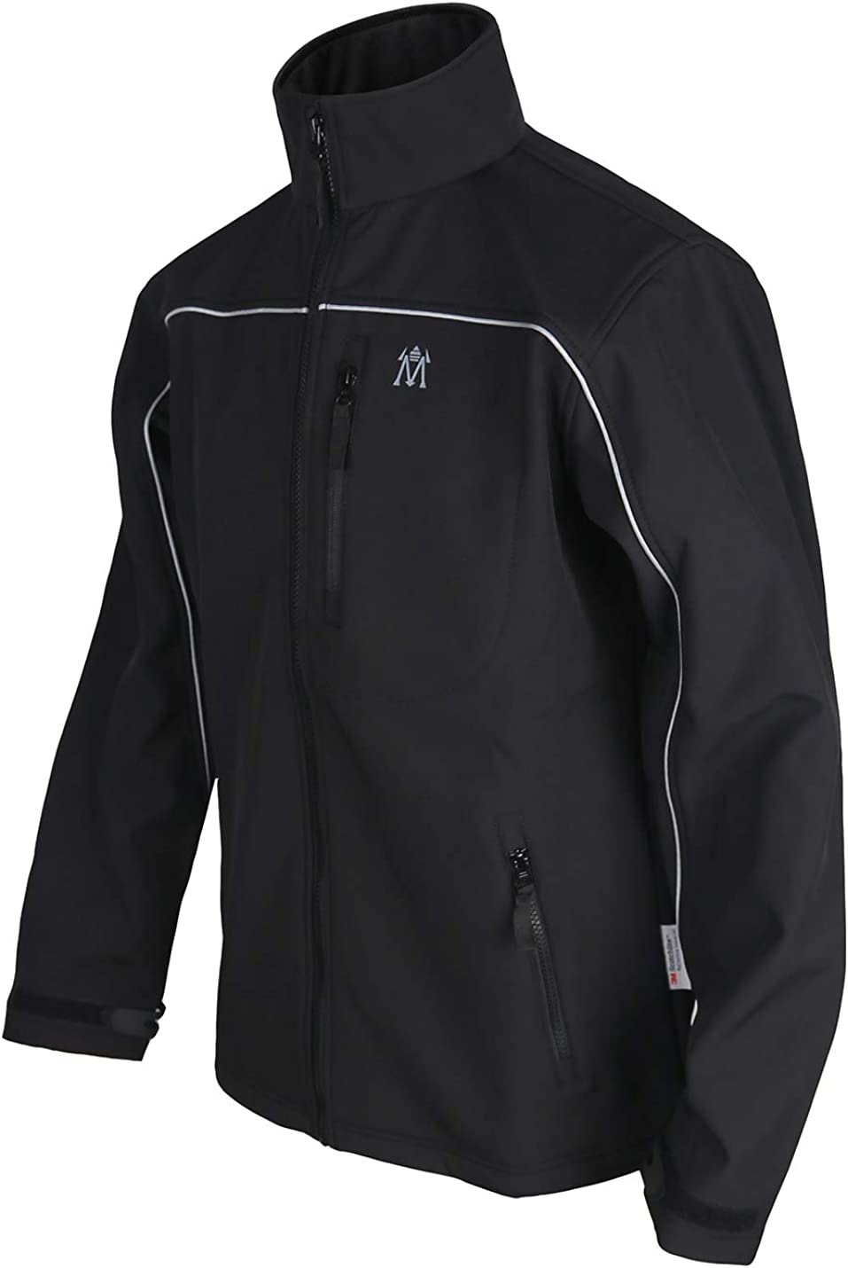 Men's Climbing Jacket Warm Fleece Windproof Outdoors Tactical Softshell