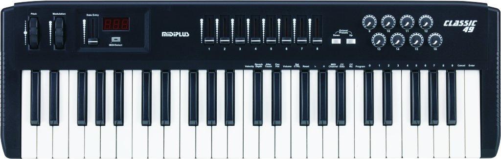 midiplus Classic 49 USB MIDI Keyboard Controller