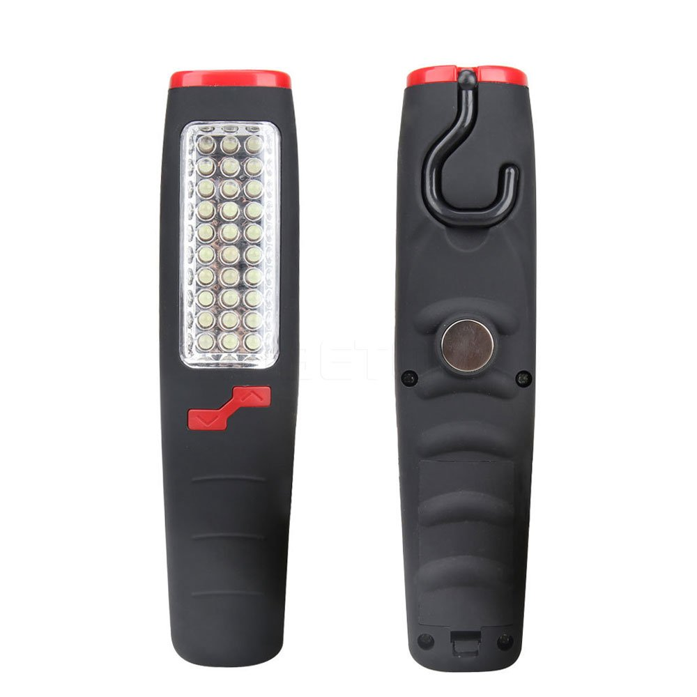 Daphot Store - NEW 37 LED Hand Work Light CAR Outdoor Repair Camping Flashlight Emergency Inspection lamp Portable
