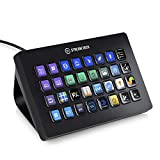 Elgato Stream Deck XL - Live Content Creation Controller with 32 Customizable LCD Keys, Adjustable Stand, for Windows 10 and macOS 10.11 or Later