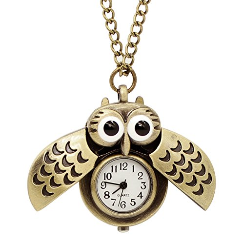Top 10 recommendation owl watch pendant necklace 2019