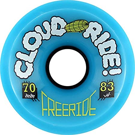 Cloud Ride! Freeride 70mm 83a Skateboard Wheels (Set Of 4)