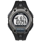 Timex Men's TW5M13900 Ironman Classic 30 Oversized Black Resin Strap Watch