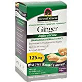 Nature'S Answer Ginger Rhizome Stndrdzd 60 Vcap