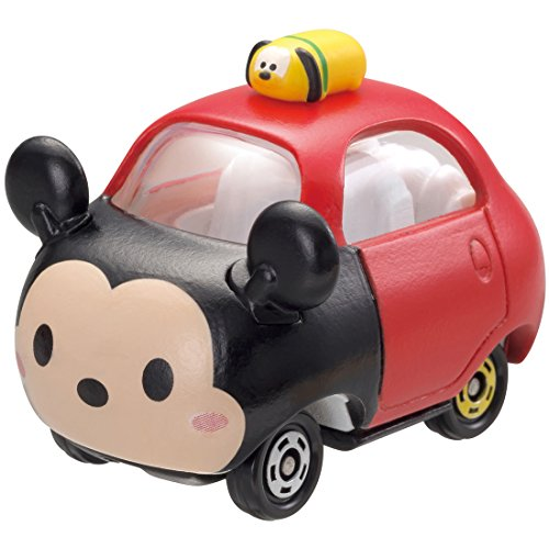 Takaratomy Tomica Disney Motors Tsum Tsum DMT-01 Mini Car Figure with Top, Mickey Mouse