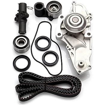 SCITOO TBK329 Timing Belt Kit Water Pump fit Acura MDX RL TL 3.5L 3.7L SOHC J37A1 J35A5 J35A8