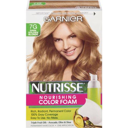 Garnier  Nutrisse Nourishing Color Foam, Dark Golden Blonde ()