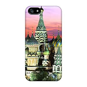 Sanp On Case Cover Protector For Iphone 5/5s (saint Basils Cathedral)
