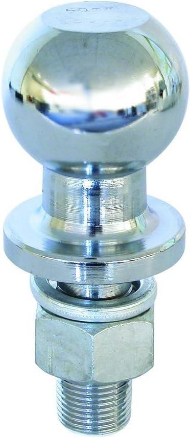 Boule attelage a visser Diamétre 50mm pour remorque caravane//QUAD PAS VIS 19 MM