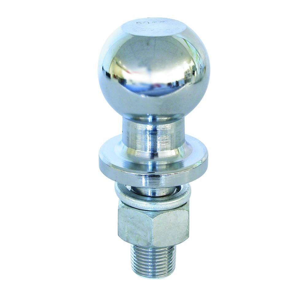 Carpoint 0410209 - Bola de remolque con rosca (50 mm, 22 x 2,5 mm)