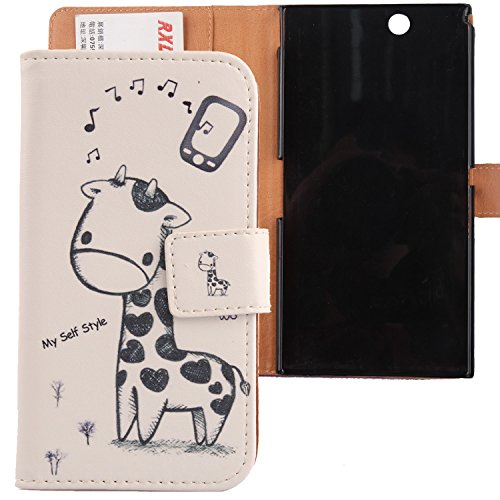 Lankashi Pattern Design PU Flip Leather Cover Skin Protective Case for Sony Xperia Z Ultra XL39h 6.44