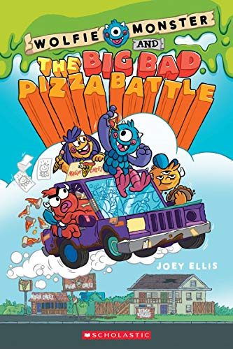Book Cover: Wolfie Monster and the Big Bad Pizza Battle
