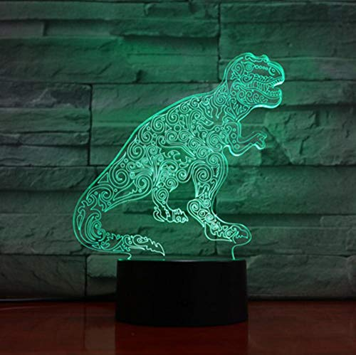 7 farbige 3D-Nachtlicht-LED Lovely Cat Night Light Touch Switch Animal Lamp s USB Illusion Desk Lamp Home Decor As Kids…
