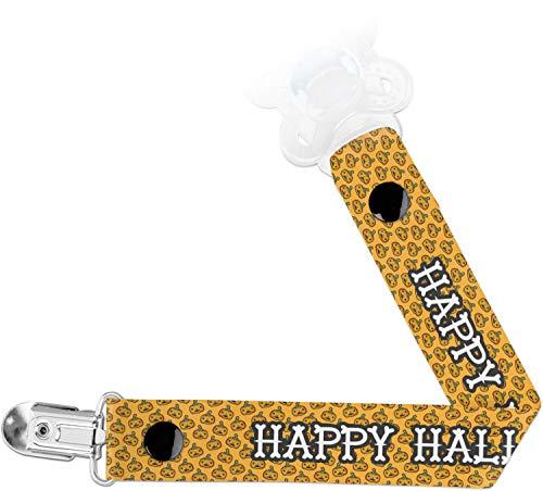 Halloween Pumpkin Pacifier Clips -