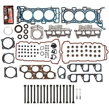 Evergreen HSHB8-10516 Head Gasket Set Head Bolts Fit 09-11 Chevrolet Aveo Pontiac G3 1.6 1.8 LXV LUW