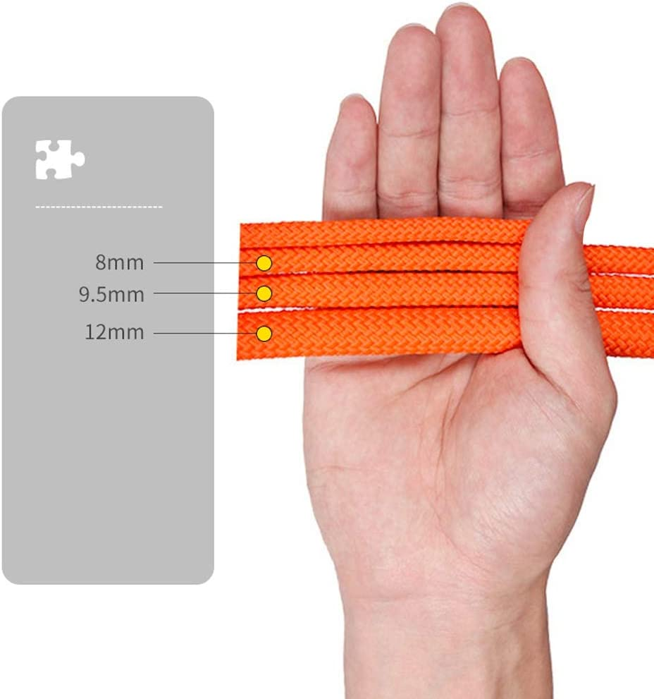 with Storage Bag Multi-Size Optional Ropes Water Rescue Rescue Rope Polypropylene Outdoor Lightweight Mountaineering Safety Rope Outdoor Survival Equipment Jingdun Mountaineering Rope