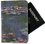Water Lilies by Claude Monet Passport Holder - Fabric