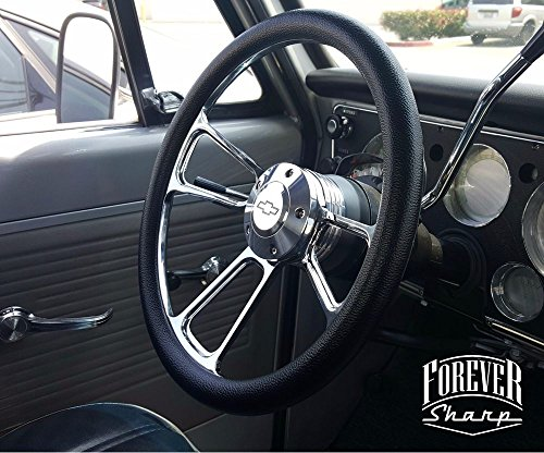 - Billet Muscle Chevy Gm 69-94 Steering Wheel Set W/ Chevy Engraved Horn