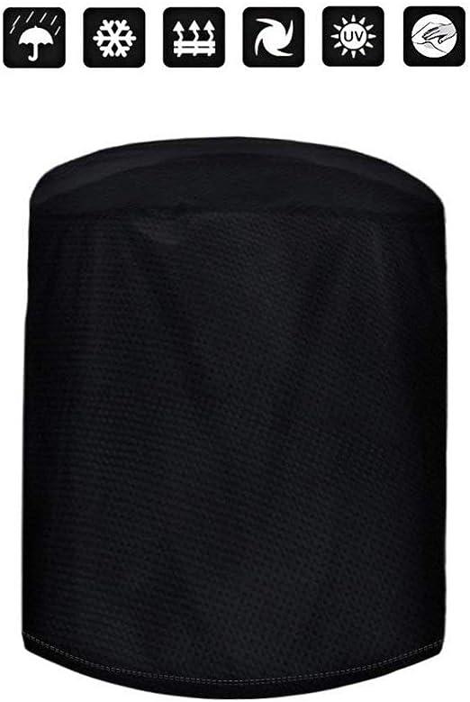 PRETTYLE - Funda redonda para muebles de jardín, barbacoas, funda impermeable para muebles de exterior (70 x 70 cm): Amazon.es: Hogar