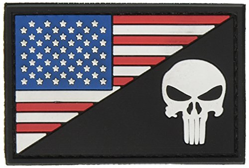 American Punisher Rubber Morale Patch