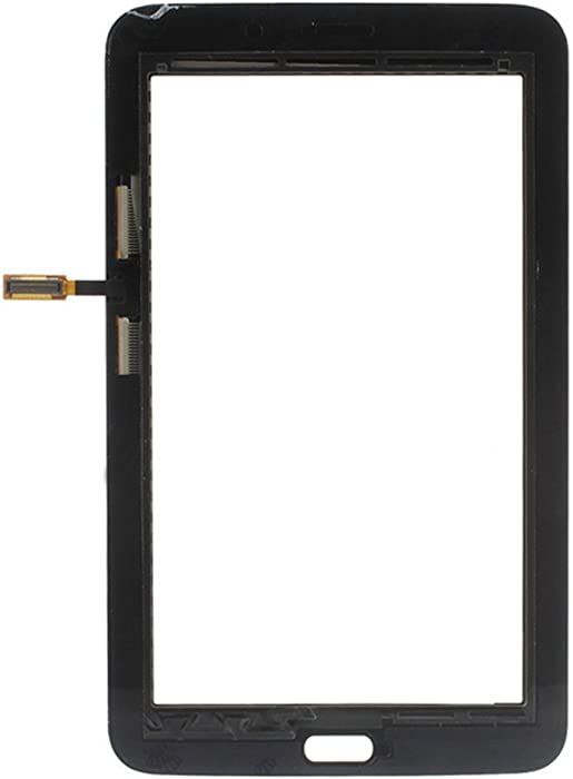 Touch Screen Glass Digitizer Lens Replacement for Samsung Galaxy Tab 3 Lite T113 7.0 inch Black