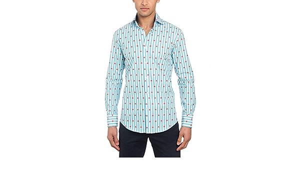 Hawes & Curtis - Camisa casual - Slim Fit - York - turquesa a ...