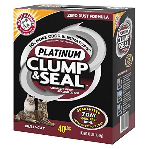 Arm Hammer Litter Clump Seal Multi Cat Litter