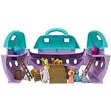 BOLEY Noah's Ark Toy Play Set - Multi-Piece Noah's Ark Toy Carrying Case with Noah, Noah's Wife and Noah's Animal Toys