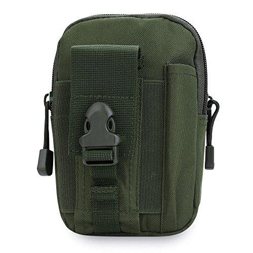 Aficionados militares bolsillos tácticos de bolsillos de cinturón de deportes al aire libre monedero billetera desgaste...