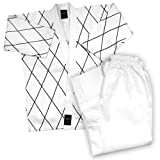 Dynamics 14 oz Hapkido Uniform - White/Black size 5