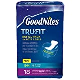 Health & Personal Care : Goodnites Tru-Fit Refill Pack S/M - 3PC