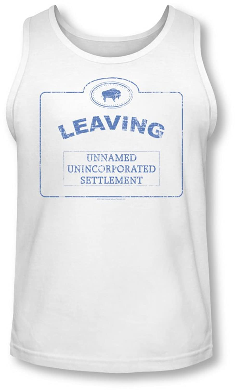 Warehouse 13 - Mens Now Leaving Univille Tank-Top