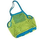 CJESLNA Mesh Beach Tote Bag - Good for the Beach Family Children Play(swim, ...