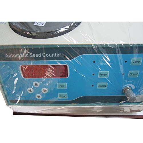 VTSYIQI Automatic Seeds Counter Machine Automatic Counting Instrument Sly-C with Adjustable Speed for Various Shapes Seeds Large Medium and Small Seeds LED Display by VTSYIQI (Image #3)