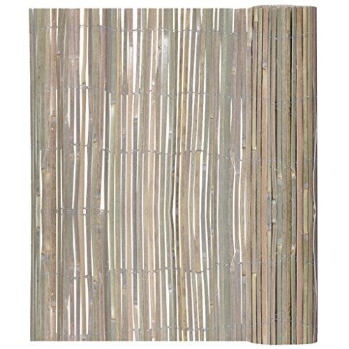 vidaXL Bambusmatte Sichtschutzmatte Sichtschutz 200 x 400 cm