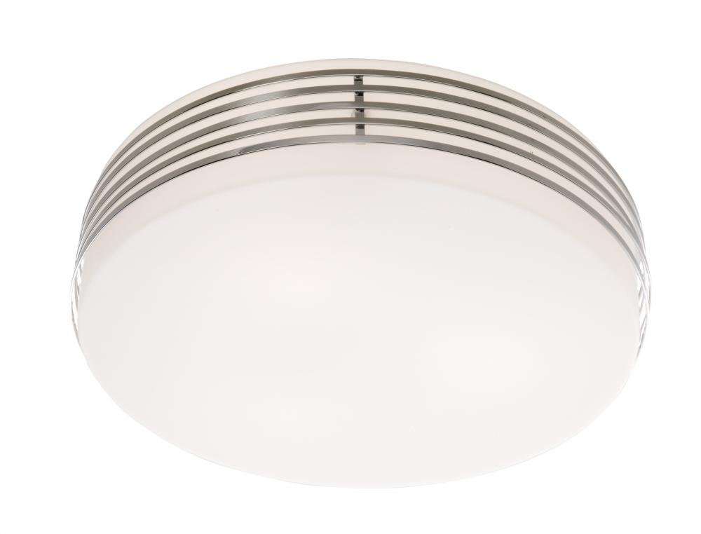 Artcraft Lighting Flushmount 3-Light Flush Mount Light, Chrome by Artcraft Lighting