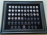 Black Display Frame for the 50 + 6 State Quarters 2010-2020 (Not Included)