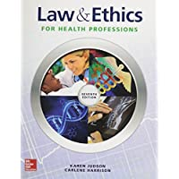 Law and Ethics for Health Professions with Connect Access Card
