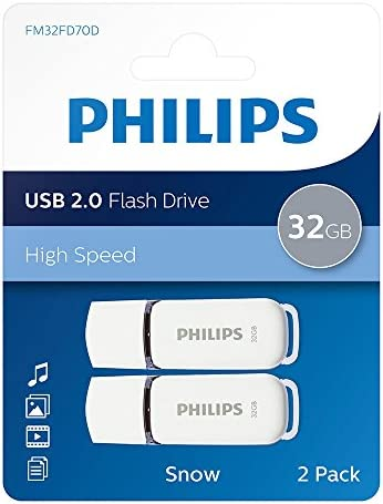 Philips Snow Series Usb 2 0 Flash Drive Memory Computers Accessories