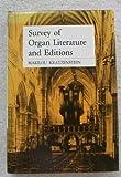 Survey of Organ Literature and Editions, Marilou Kratzenstein, 0813810507
