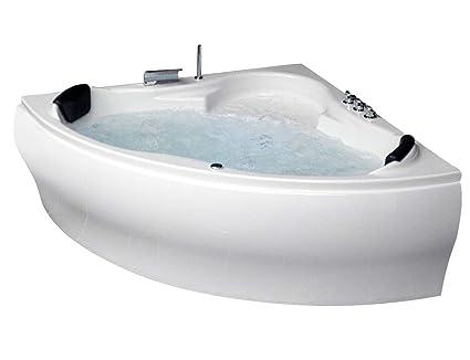 Vasca Da Bagno Angolare Chiusa : Whirlpool vasca da bagno parigi made in germany con 8 ugelli per