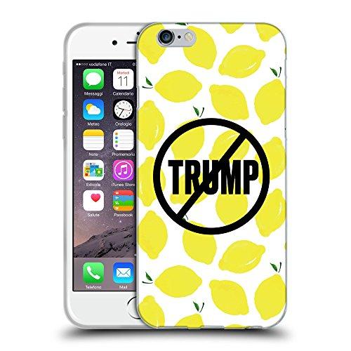 Super Galaxy Coque de Protection TPU Silicone Case pour // Q04110523 Jamais trump citron // Apple iPhone 7