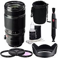 Fujifilm XF 50-140mm f/2.8 R LM OIS WR Lens + 72mm 3 Piece Filter Set (UV, CPL, FL) Bundle 1
