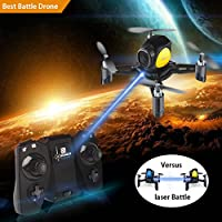 DIY Mini Drone With Remote Control Headless Mode 2.4Ghz Nano LED RC Quadcopter (Altitude Hold, One Key To Return, 3D Roll MAV RTF) Good for beginners Gift