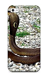 Hot Excellent Design Snake Phone Case For ipod touch4 Premium Tpu Case