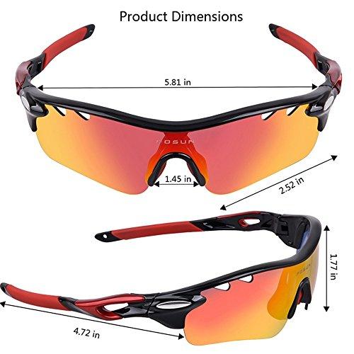 en Soleil de Lunettes Noir Lunettes Vent Lunettes Sunglasses Anti buée Coupe LBY Couleur Bleu de Sport et Riding air Homme Polarized pour Plein xTtZf5w