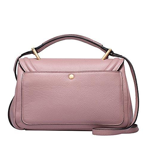 Tassel Cuir à pour carré Rose Un Bag Convient Quotidien bandoulière en Portable Usage Sac Asdflina rétro Simple RBgCzw